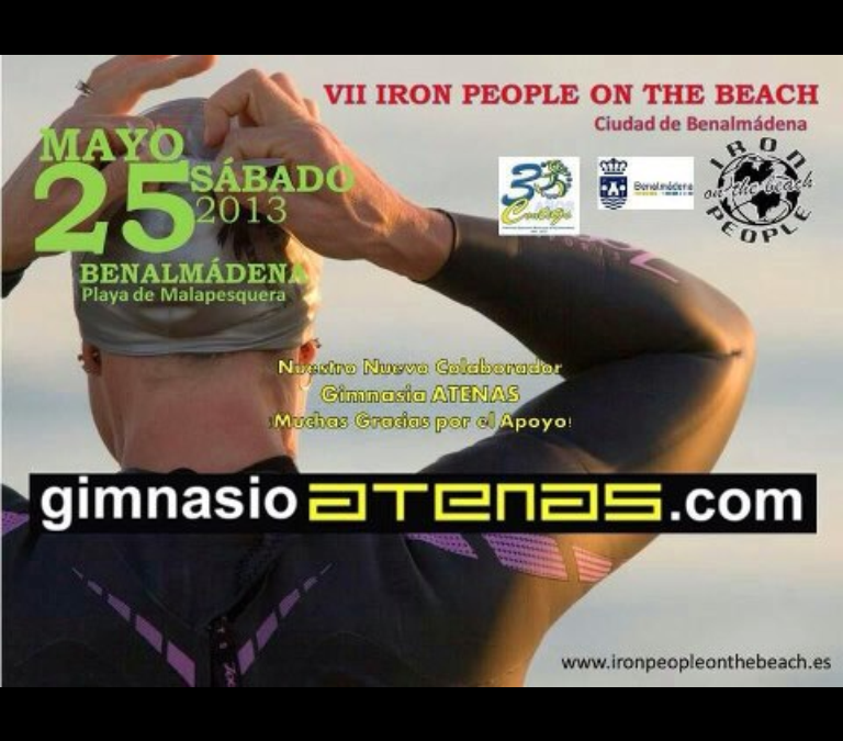 Master Class de ZUMBA en la VII Iron People on the beach