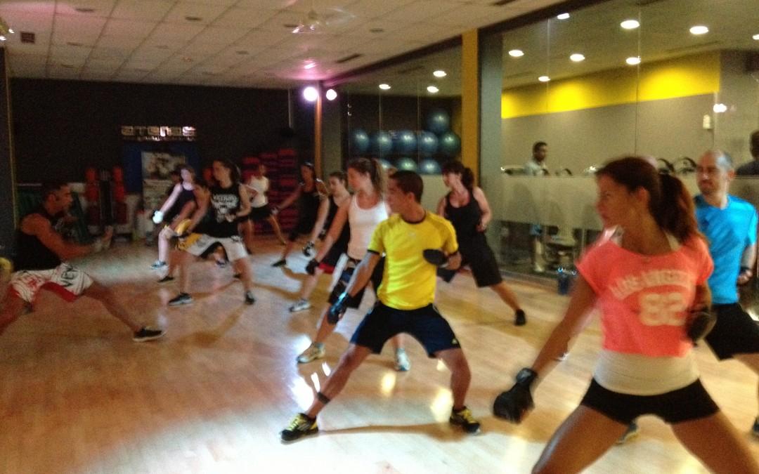 Presentación de Body Combat 56 en Gimnasio Atenas Benalmádena