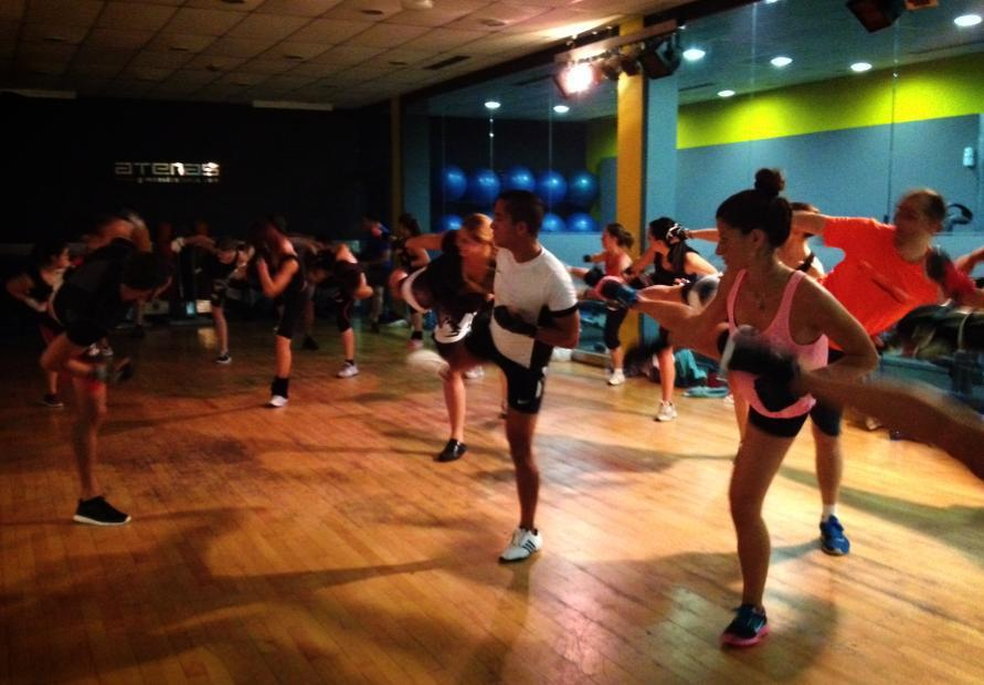 Cómo se hace Body Combat en el Gimnasio Atenas
