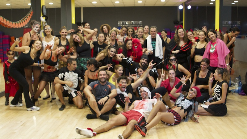 Doble Maratón de Zumba y Bike dedicado a Halloween