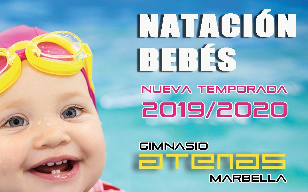 Natación bebés 2019/2020