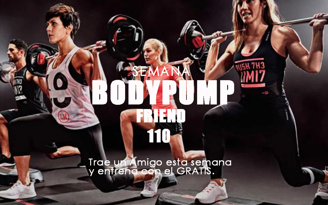 Semana Bodypump Friend Julio 2019