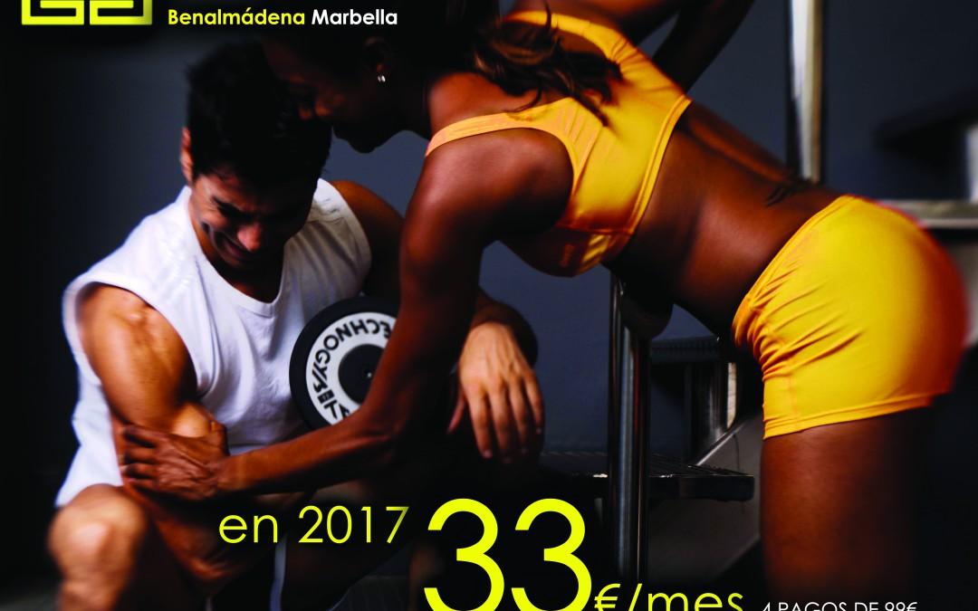 Nueva promoción 33€ mes