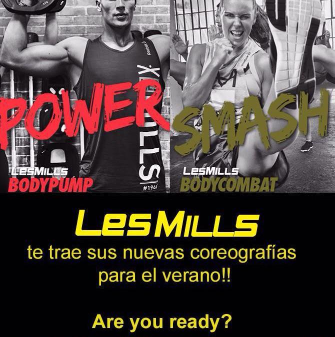 Nuevas coreografías Body Pump 98 y Body Combat 68 en Gimnasio Atenas Benalmádena